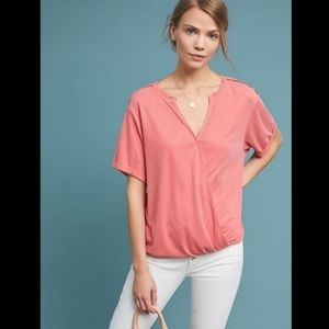 Anthropologie Saturday/Sunday Amy Surplice Top
